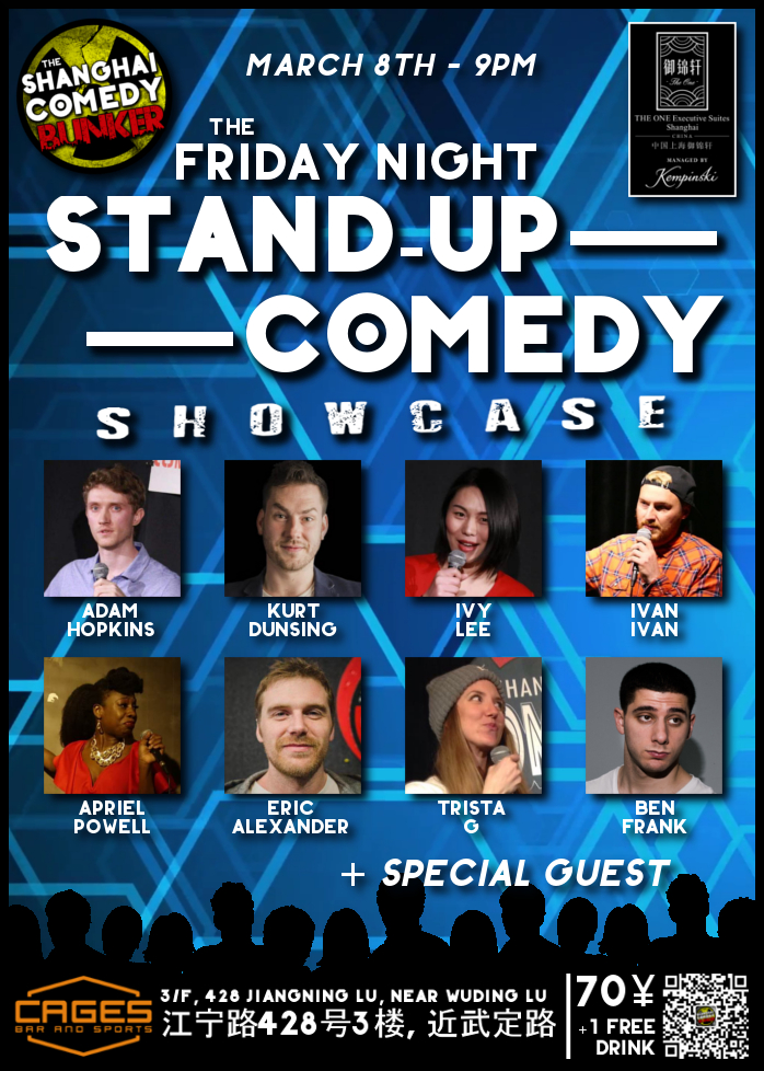 Upcoming Shows Shanghai Comedy Bunker